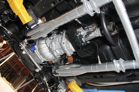 Jet-Hot Coating and Flowmaster Exhaust for Project Swinger