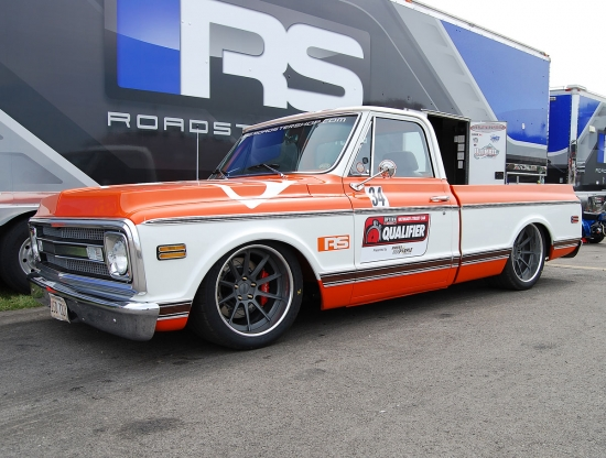 Video: The Roadster Shop Takes to the Goodguys Autocross in C10