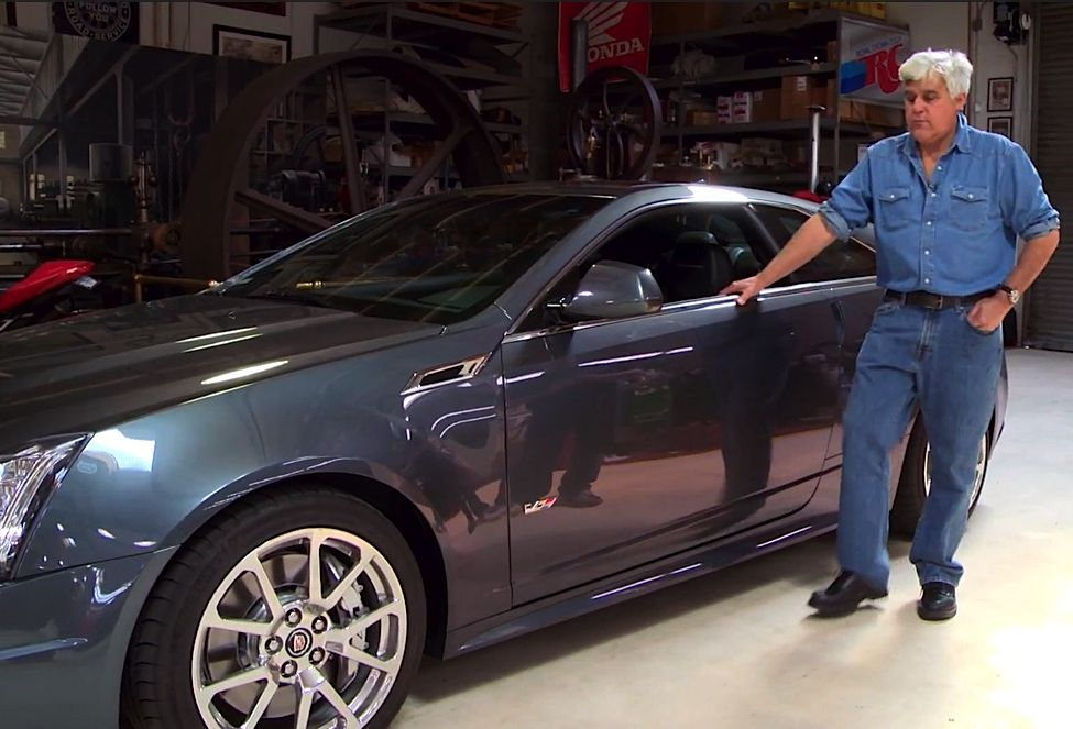 "Video: Jay Leno Test Drives The Hennessey CTS-V ""Coupe De Thrill"""