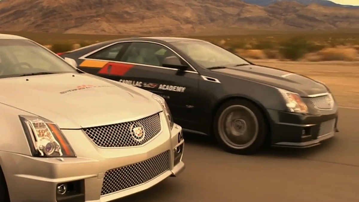 Cadillac Creates The V-Series Performance Playground