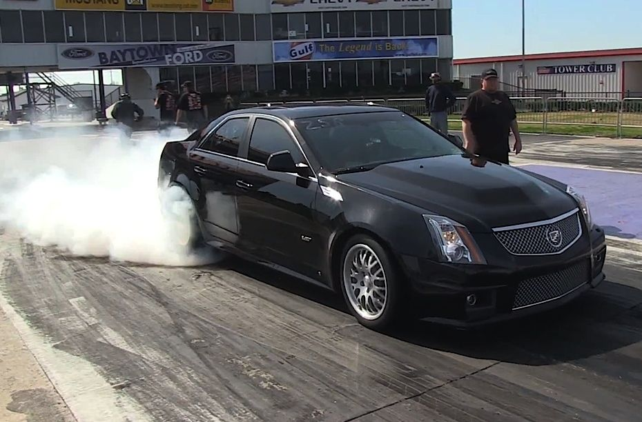 Video: Fastest and Quickest Cadillac CTS-V is Now Running 9.40s