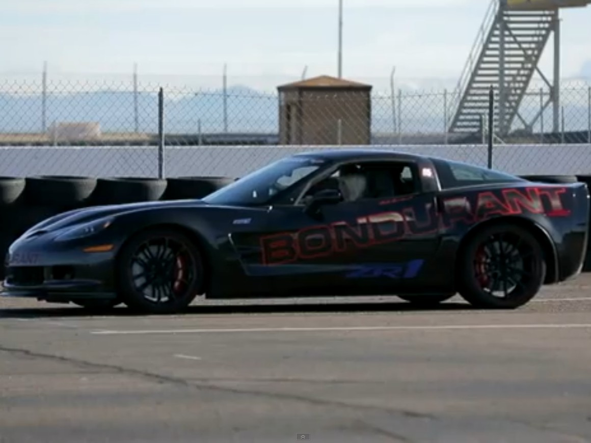 Video: Jessi Lang Attempts to Tame The Mighty ZR1 at Bondurant