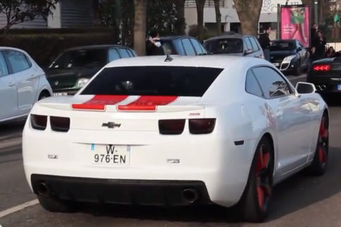 Video: American Musclecars Alive And Well At Cars & Coffee In Paris