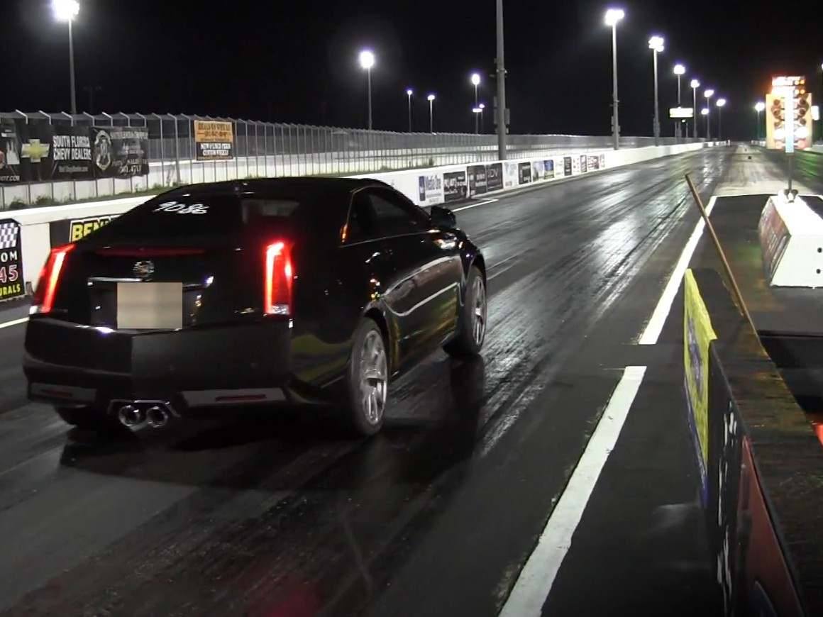 New Record For Bone-Stock CTS-V: 11.97 at 116 MPH