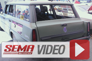 SEMA 2013: Total Cost Involved And Skrape Bring Out The Racing Wagon