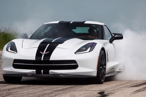 Video: A Test Drive With The Hennessey HPE700 C7 Supercharger Kit