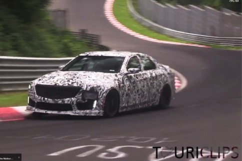 Video: 2016 CTS-V Spotted Lapping the Nürburgring