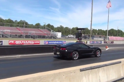 Video: Baseline Quarter-Mile Times For An Automatic C7