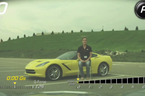 Video: Chevy Intern Uses C7 PDR to Film Ice Bucket Challenge