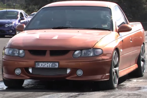 Video: Holden Ute With Twin-Turbo LS Power Begs For Grip