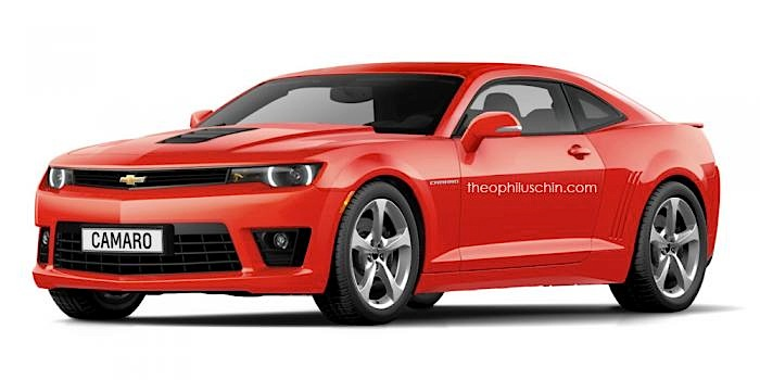 Is This The 2016 Camaro?
