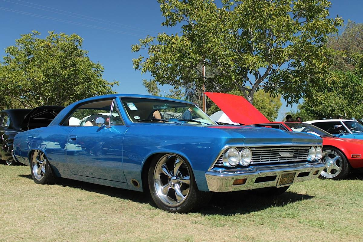 """Car Feature: Charles Newcomb's 1966 Chevelle """"Nemesis"""""""