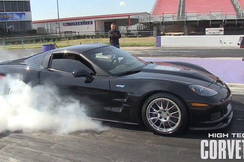 Video: ZR1 Runs a 9 Second 1/4... But the Beauty is in the Sound!