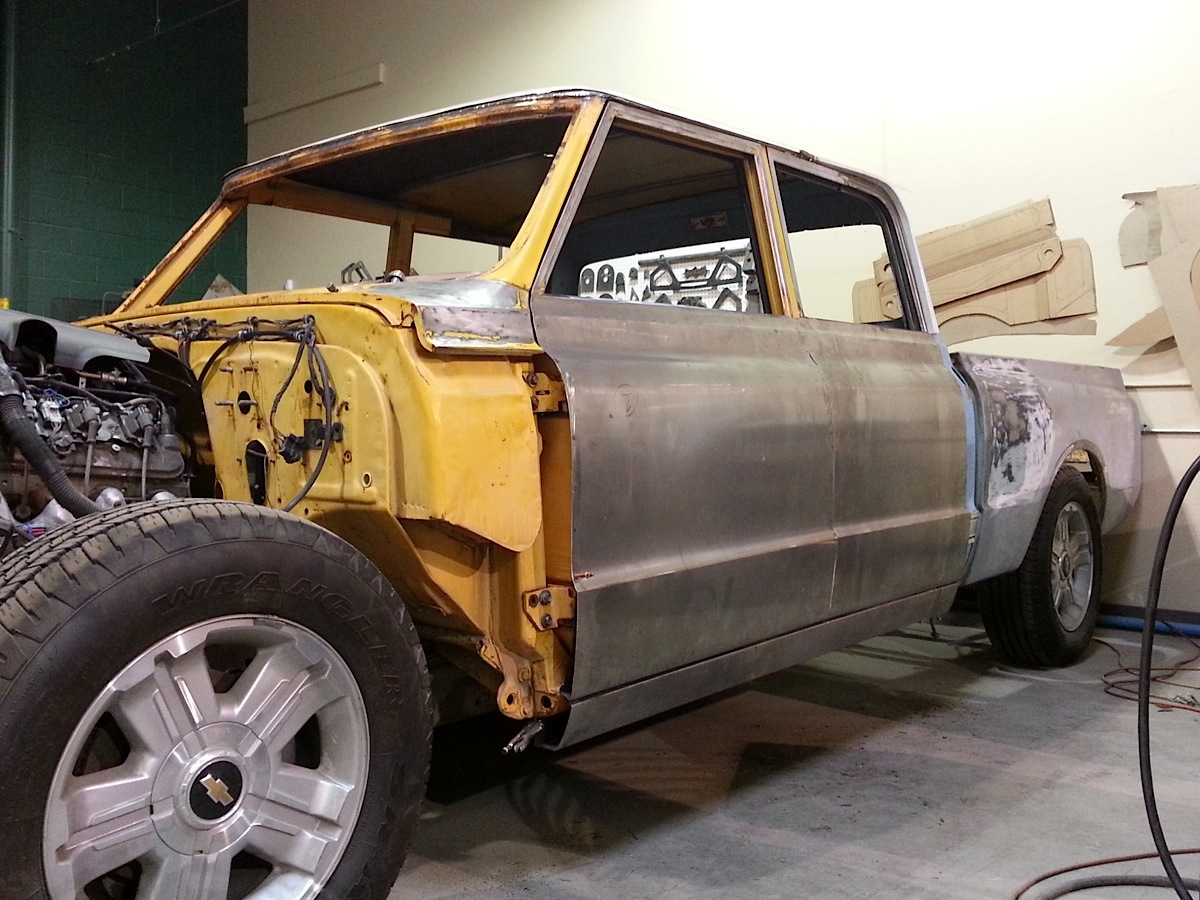 Sisco's Fabrication Supercrew Silverado: A Preview Of What's To Come