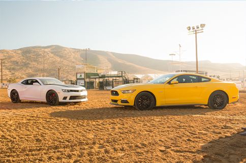 Video: Carlos Lago Pitts Camaro SS Against Mustang GT Head-to-Head
