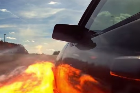 Video: LSX-Powered Mustang Goes BOOM In Fiery Fashion!