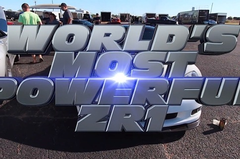 Video: A 1,300+ hp ZR1 Takes Us For a Run at the Texas Invitational
