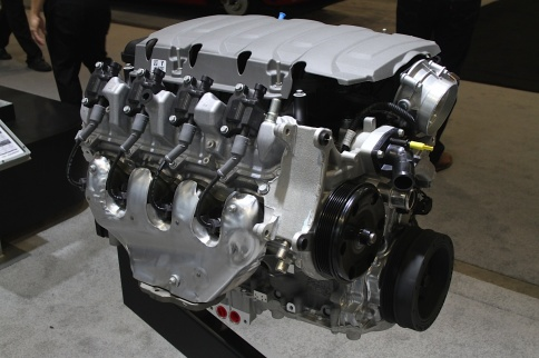 SEMA 2014: Chevy Performance Highlights the Gen V LT1 Crate Engine