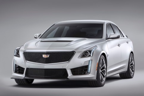 Video: Hot Rod 2016 Caddy CTS-V Lights 'Em Up