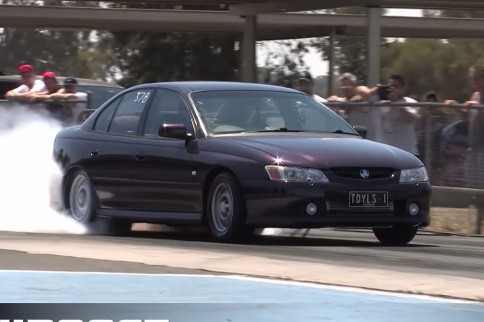 Video: A Clean, Sleeper Turbo LS1 Holden Commodore VY Gets Down