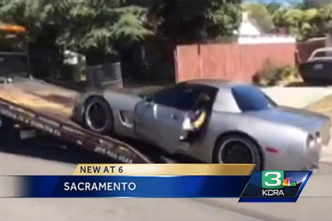 Recent Sideshow Results in the Impounding of a Corvette