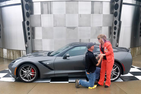 Corvette Couple Gets Engaged At Bloomington Gold