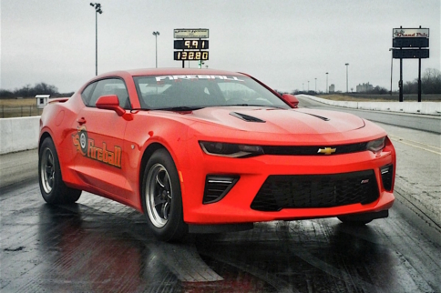 Video: Fireball '16 Camaro Back At It With A 9-Second Pass