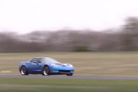 Video: 1000 Horsepower Corvette ZR1 Sets Half-Mile Record