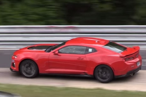 Video: 2017 Camaro ZL1 Adds Its Soundtrack To The 'Ring