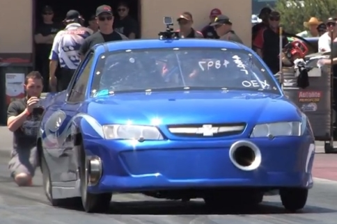 6-Second Holden Ute Resets Aussie LS Record At Grudge Kings