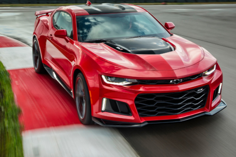 Watch The 2017 Camaro ZL1 Destroy The Nurburgring in 7:29.60