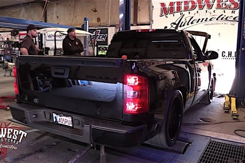Video: Midwest Streetcars Makes 755 RWHP With SBE 5.3 Shop Truck