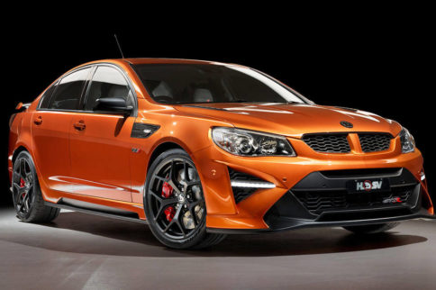 Video: Listen To The LS9-Powered Holden HSV GTSR W1 In Action!