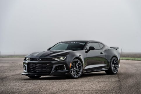 Video: Hennessey's HPE850 Camaro ZL1 Hits The Drag Strip