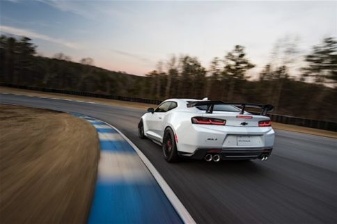 Camaro ZL1 1LE Spotted Testing At The Nurburgring