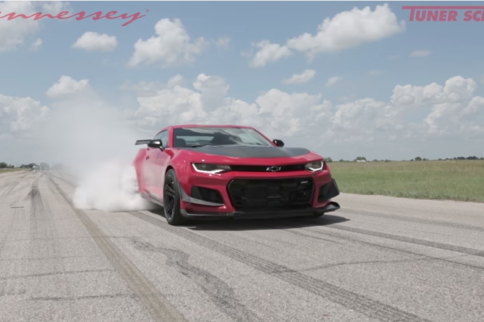 On The Dyno With The 2018 Camaro ZL1 1LE