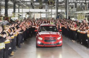 Holden's Last Car Has Officially Rolled Off The Line