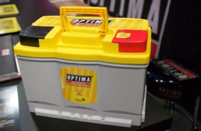 SEMA 2017: Optima Releases New Yellow Top With DIN Fitment
