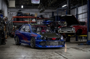 LS Build Of The Month: Chitown Customs' LS-Powered Subaru WRX