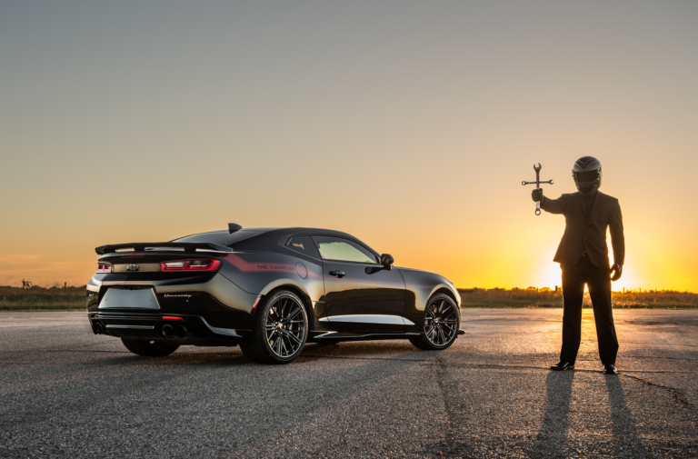 Hennessey's Exorcist Banishes Dodge Demon With 9.57-Second Pass