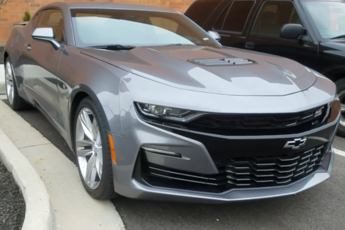 The 2019 Camaro Has Been Spotted Out In The Wild