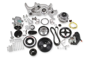 Holley Releases GM LS Complete Mid-Mount Accessory Drive Systems