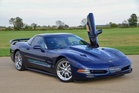 This Fifth-Generation Corvette Is A Heavenly Tribute