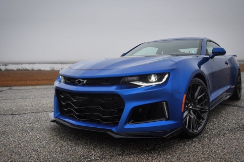 Listen To The Sweet Sound Of The Exorcist Camaro ZL1!