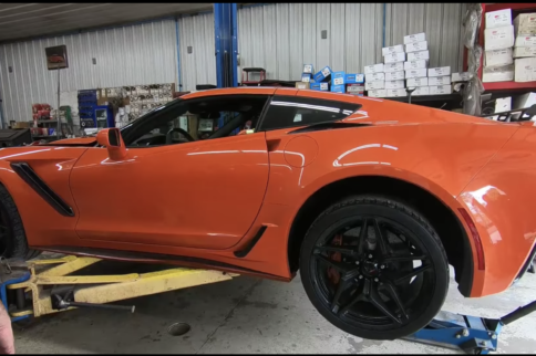 Modified 2019 Corvette ZR1 Makes Over 700 RWHP On The Dyno