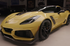 At Speed In The 2019 Corvette ZR1 With Jay Leno
