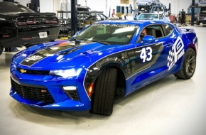 Enter To Win A Custom Camaro SS From Richard Petty!