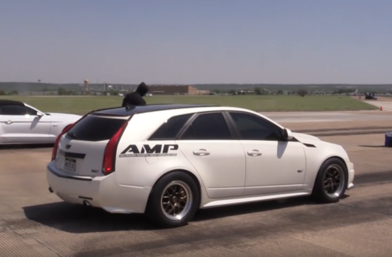 Video: 800 RWHP CTS-V Wagon Takes On The Competition